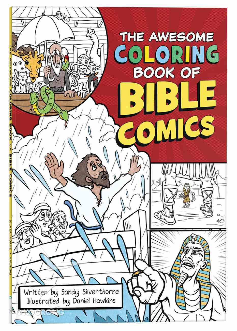 The Awesome Coloring Book of Bible Comics Paperback