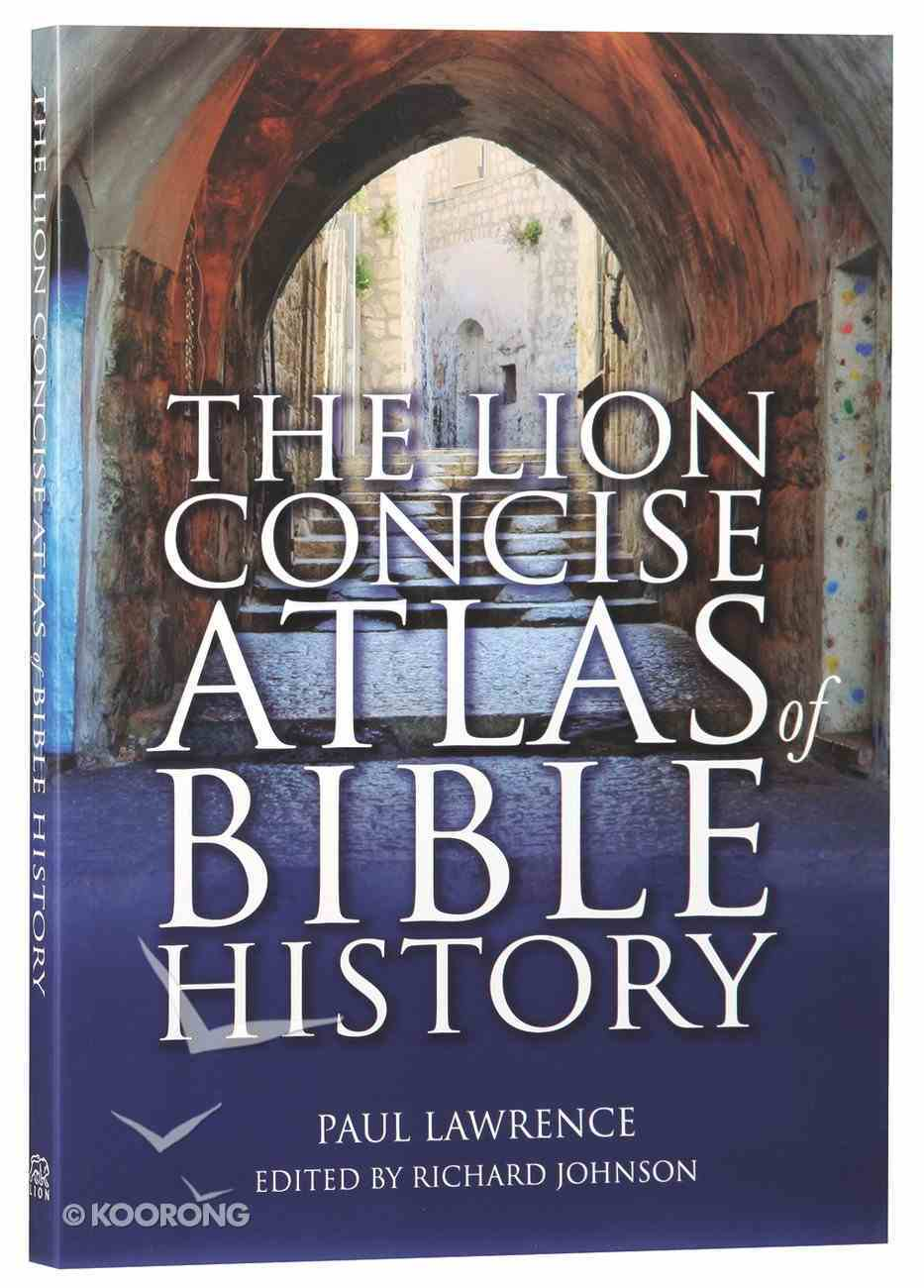 The Lion Concise Atlas of Bible History Flexi Back