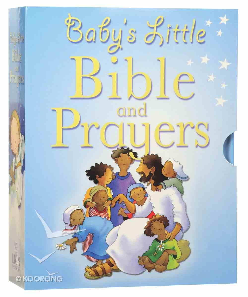 Baby's Little Bible and Prayers Box