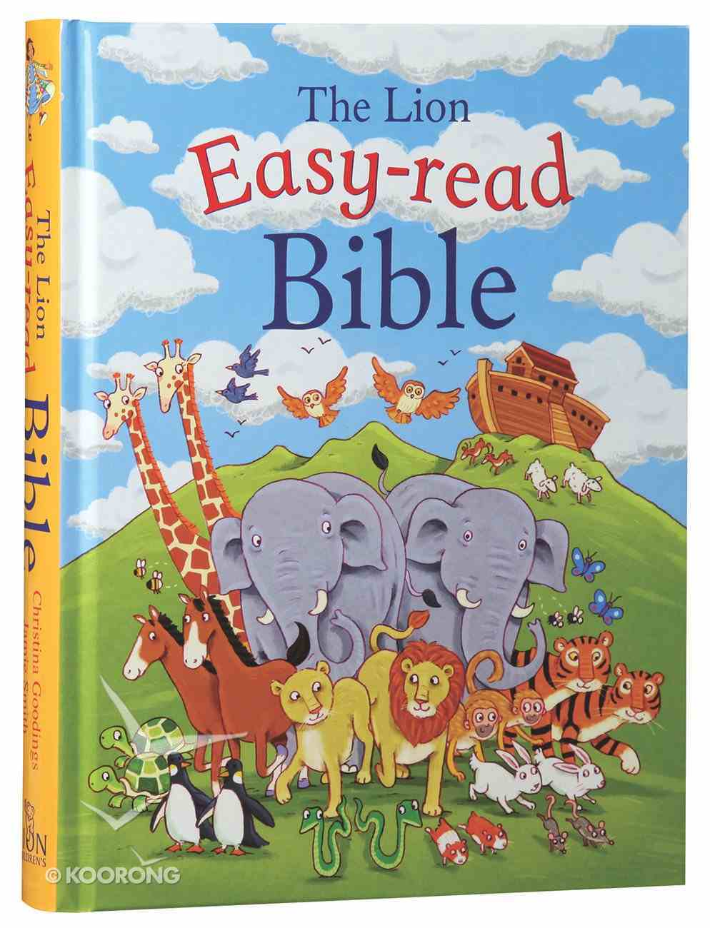 The Lion Easy-Read Bible Hardback