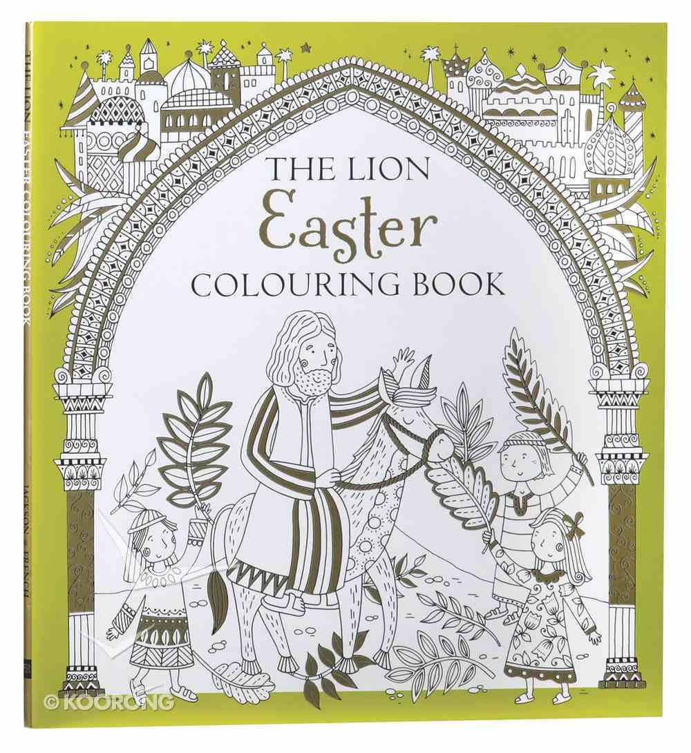 The Lion Easter Colouring Book Paperback
