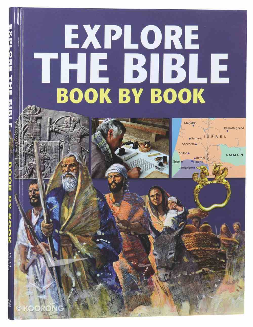 Explore the Bible Book By Book Hardback