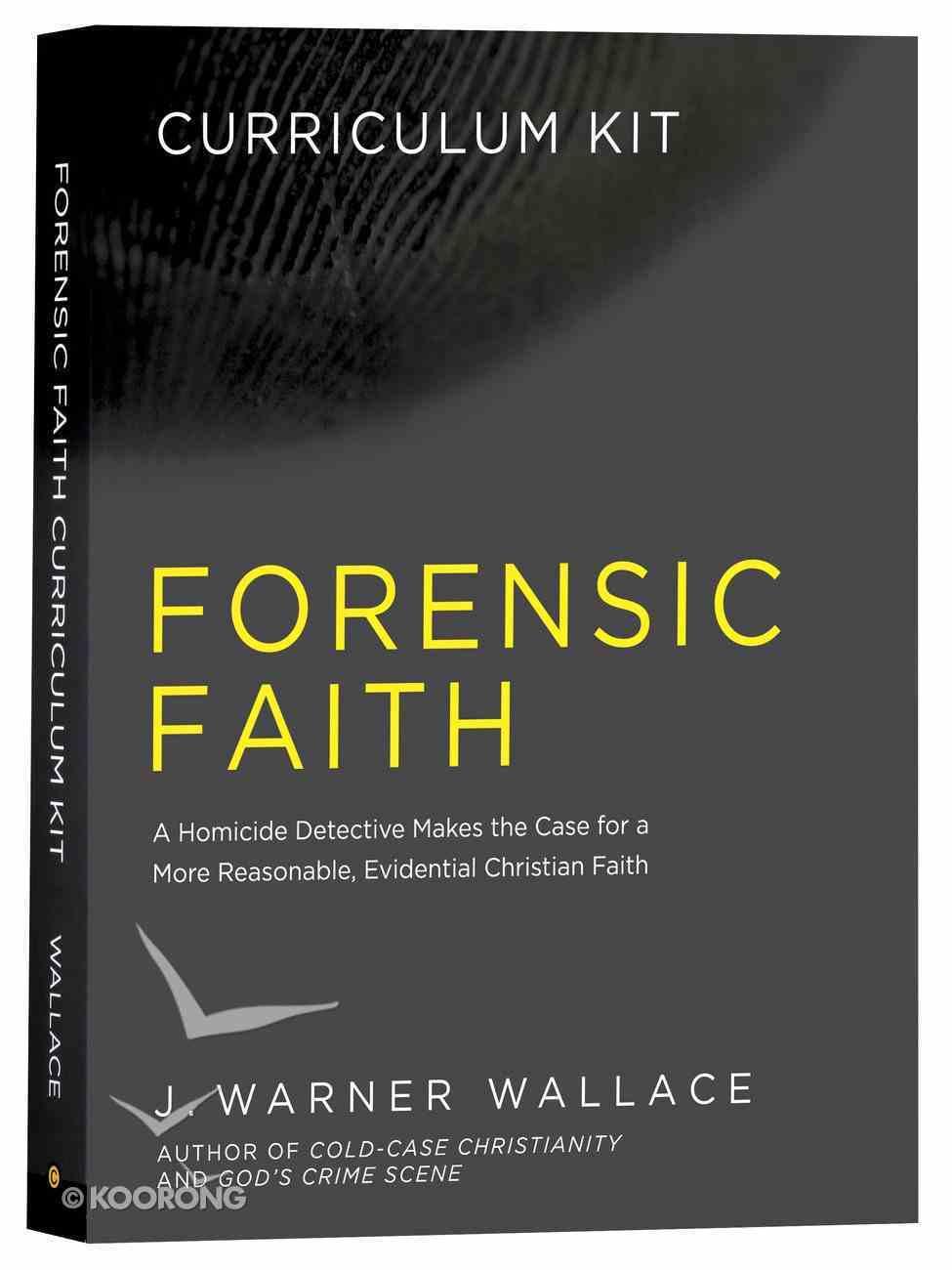 Forensic Faith (Curriculum Kit) Pack