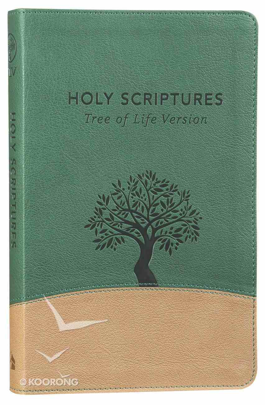 Tlv Thinline Bible Holy Scriptures Grove/Sand Tree Design Duravella Imitation Leather