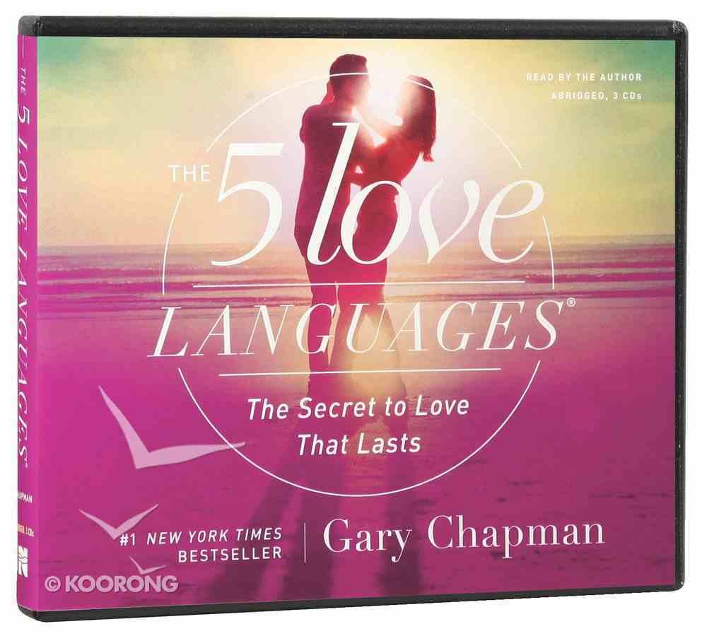 The Five Love Languages (3cds Abridged) CD