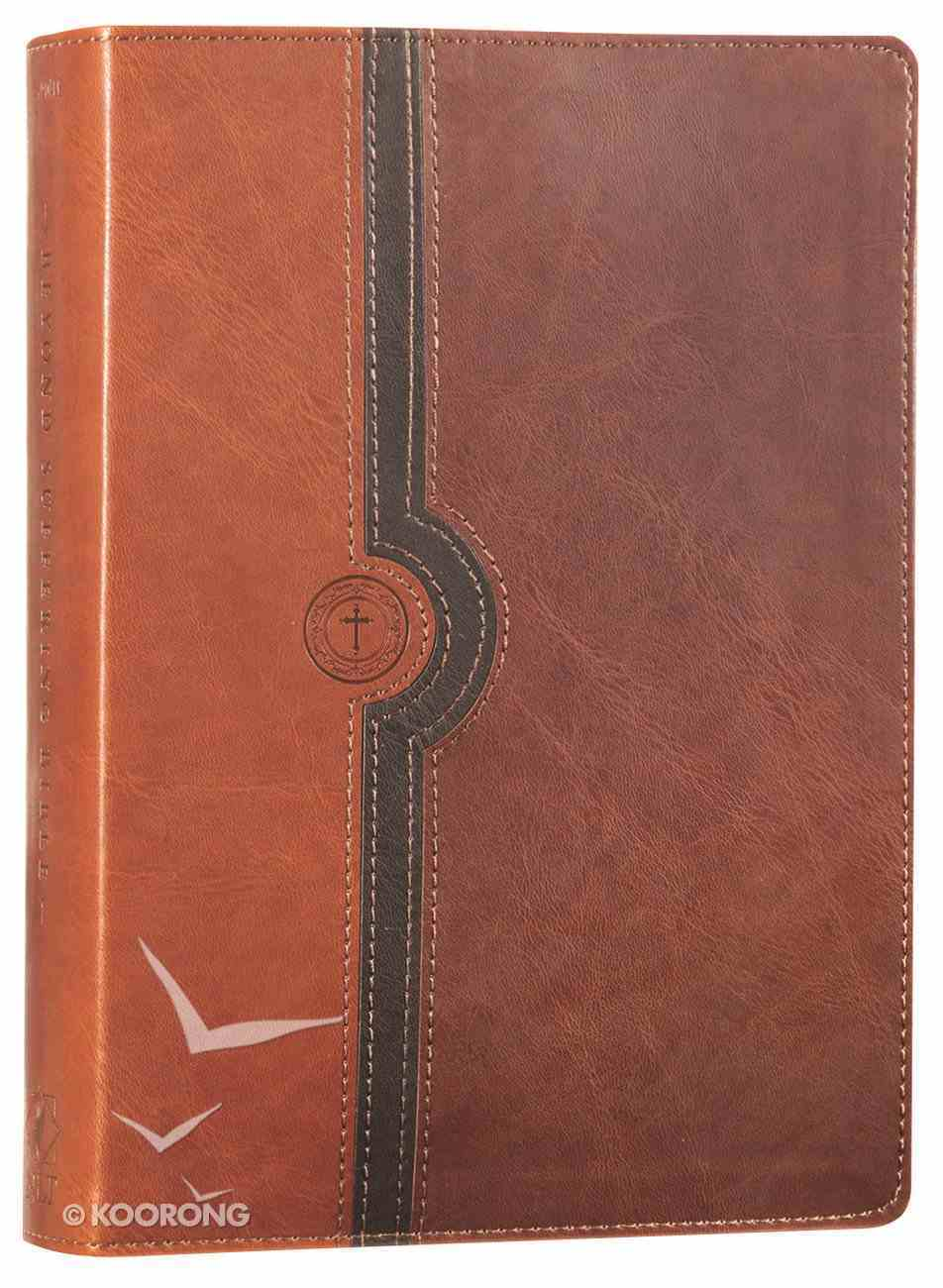 NLT Beyond Suffering Study Bible Brown (Black Letter Edition) Imitation Leather