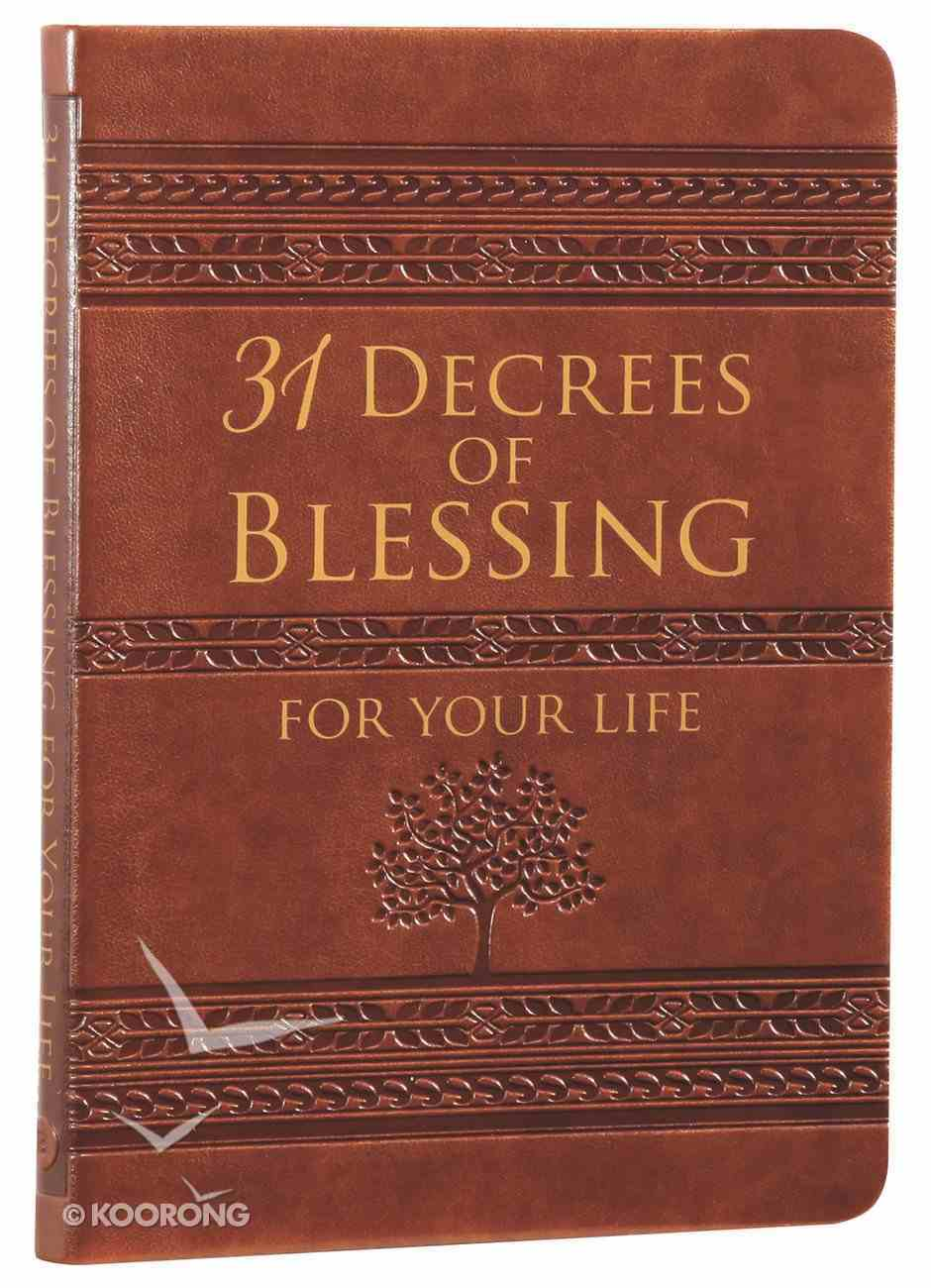 31 Decrees of Blessing For Your Life Imitation Leather