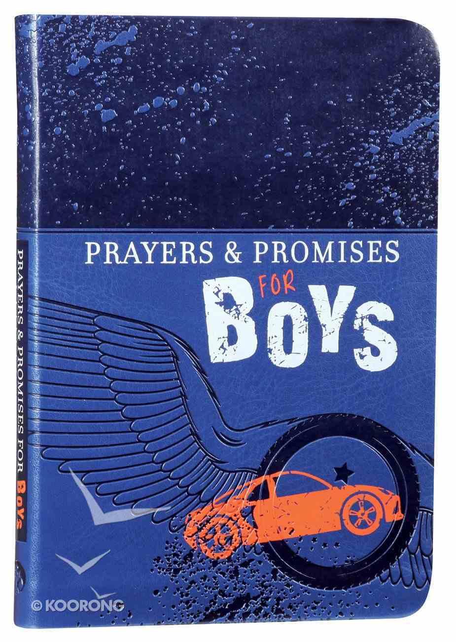 Prayers & Promises For Boys Imitation Leather