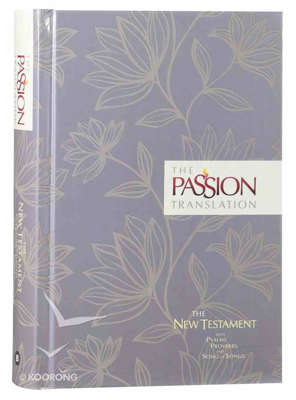 TPT New Testament Floral (Black Letter Edition) (With Psalms Proverbs And Song Of Songs) Hardback