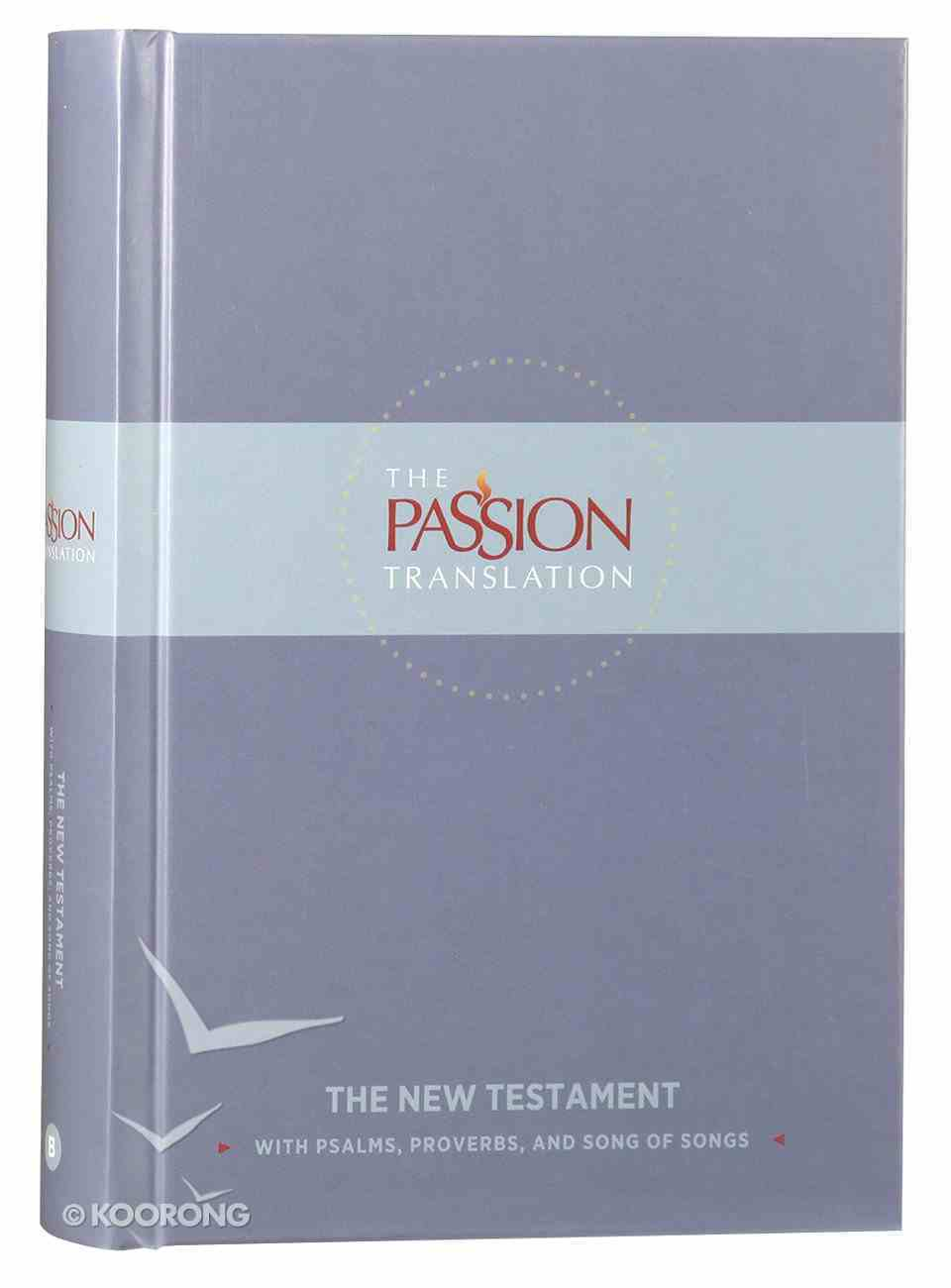 TPT New Testament Slate (With Psalms Proverbs And Song Of Songs) Hardback