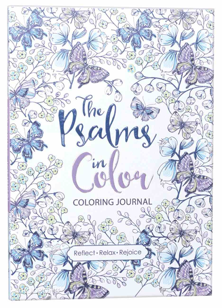 Psalms in Color (Adult Coloring Books Series) Paperback