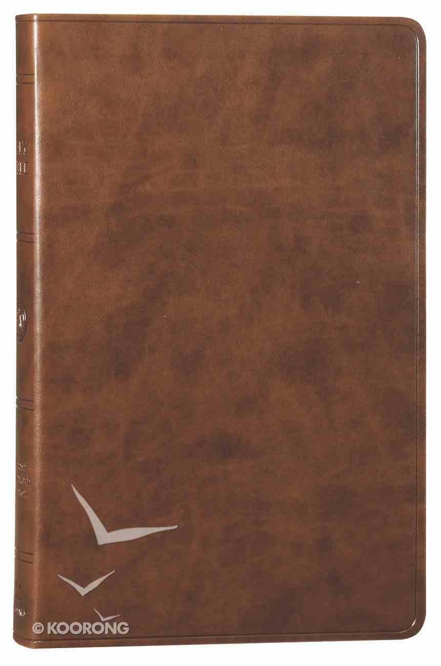 ESV Premium Gift Bible Brown (Black Letter Edition) Imitation Leather