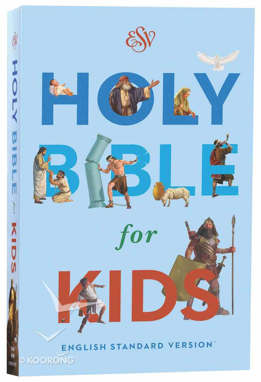ESV Holy Bible For Kids Economy (Black Letter Edition) Paperback