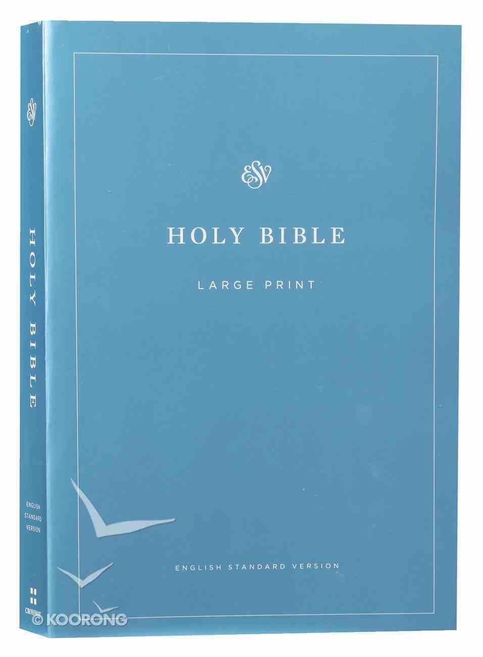 ESV Economy Bible Large Print (Black Letter Edition) Paperback
