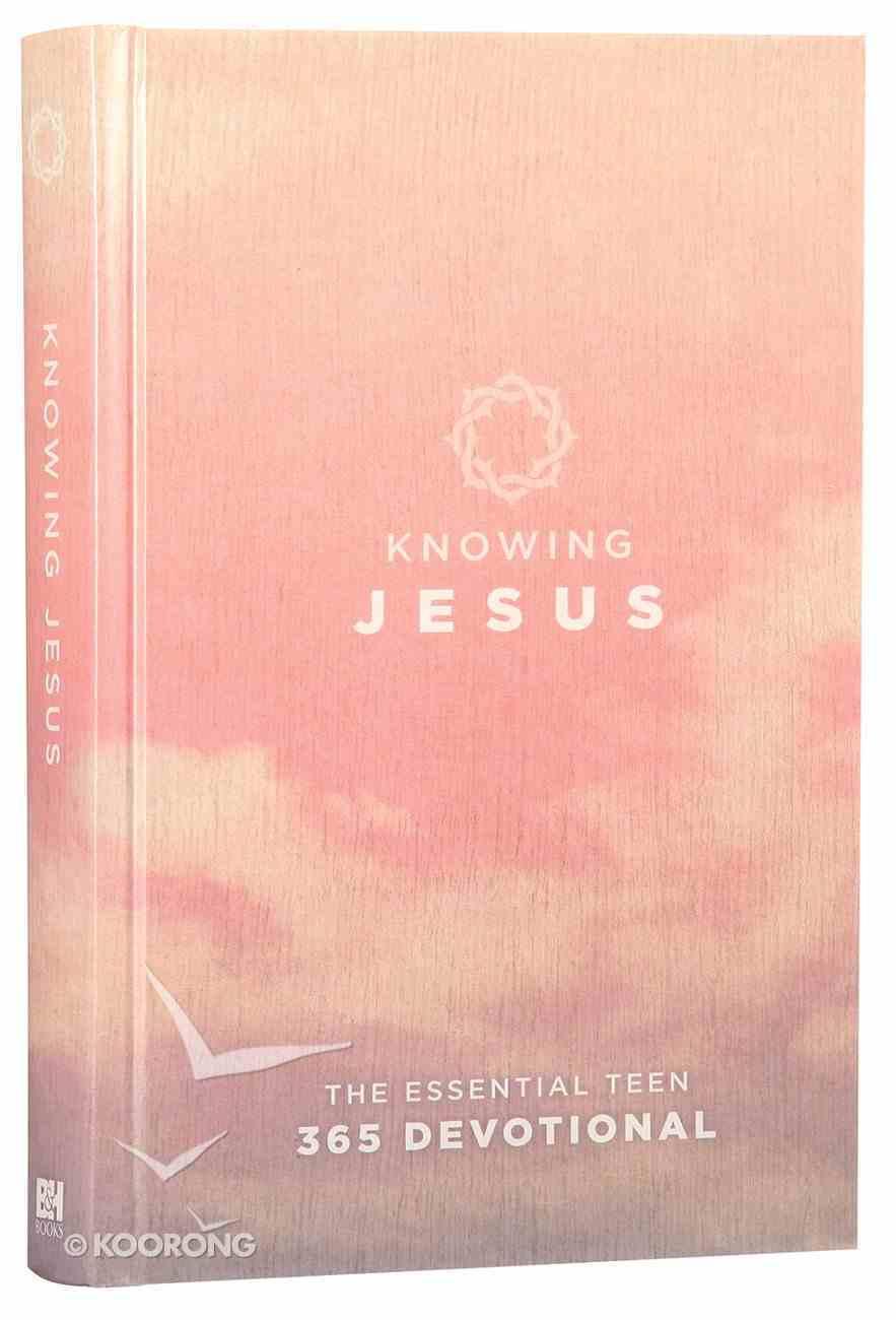 Knowing Jesus (Rose Cover) Hardback