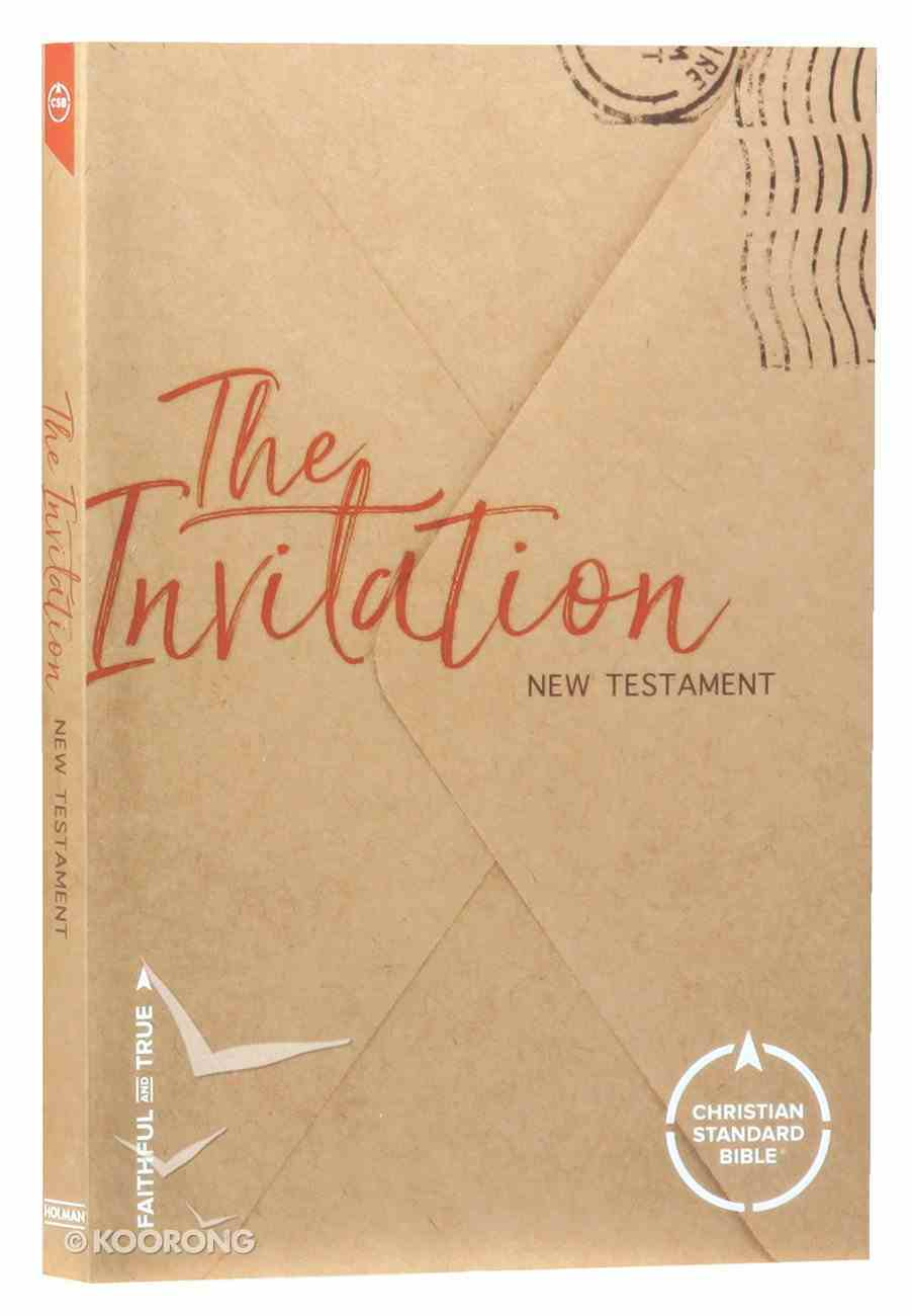 CSB Invitation New Testament Paperback