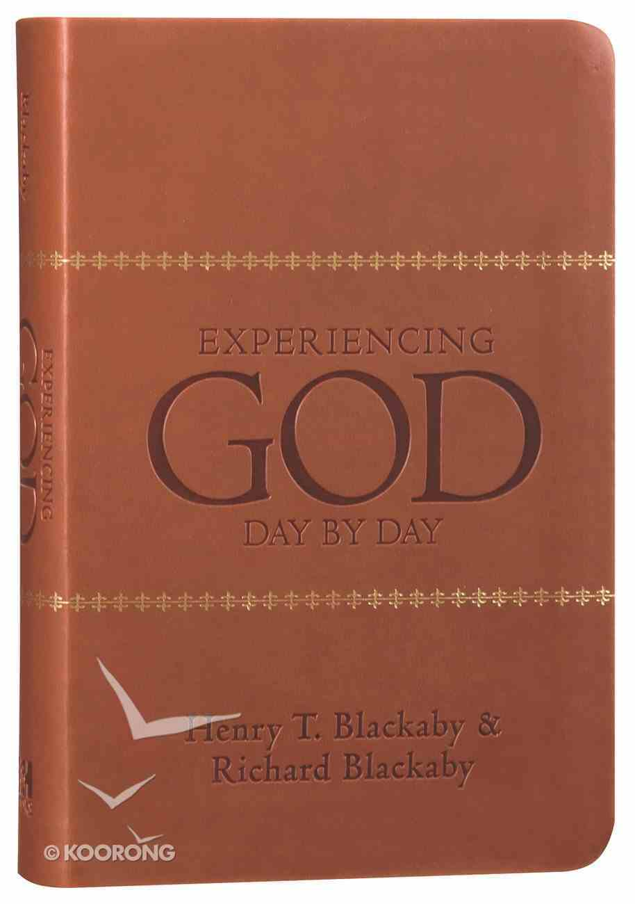 Experiencing God Day By Day Imitation Leather
