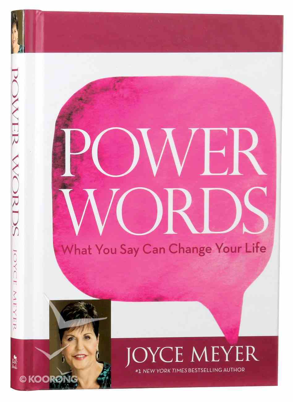 Power Words Hardback