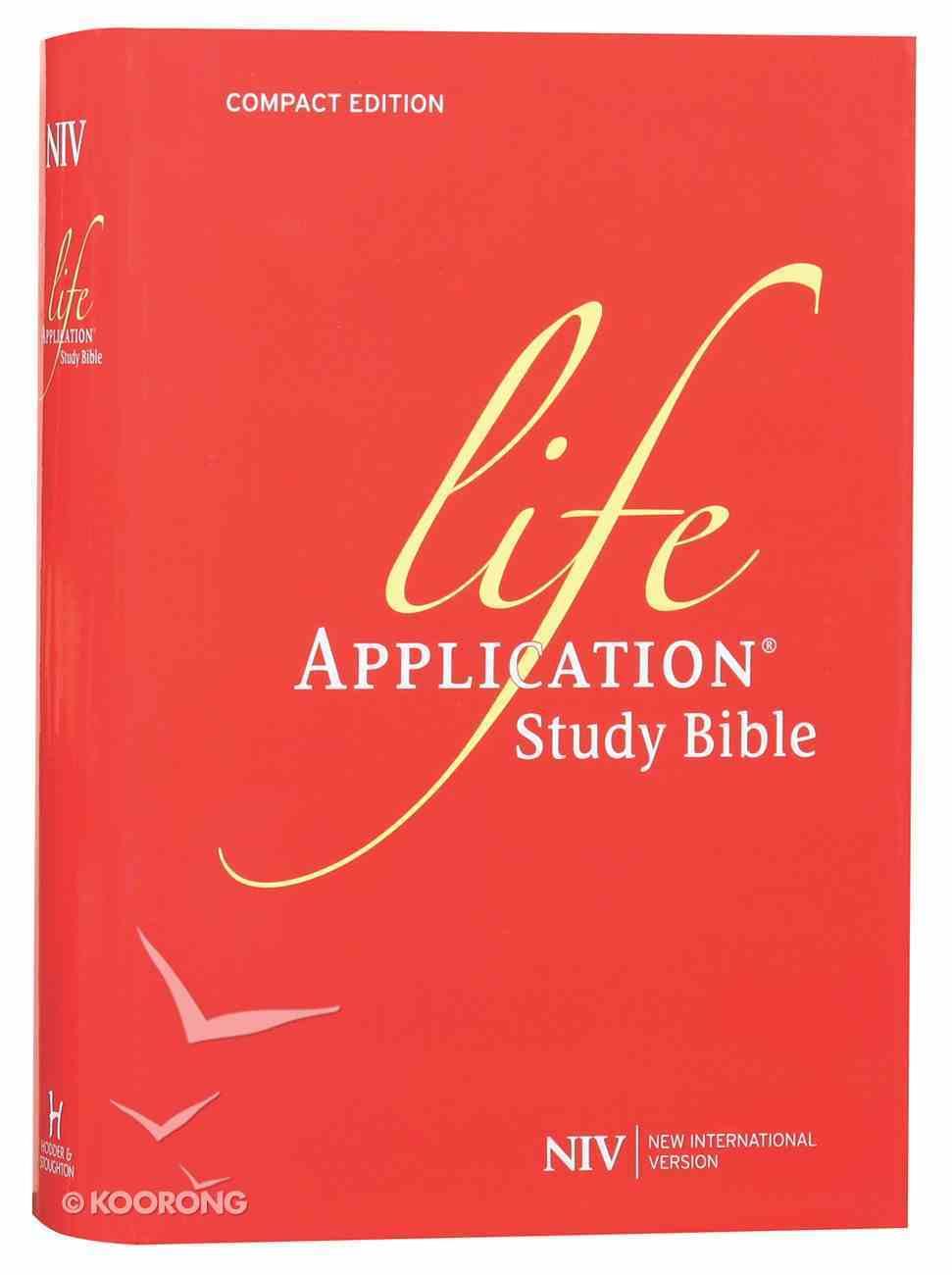 NIV Compact Life Application Study Bible (Anglicised) Hardback