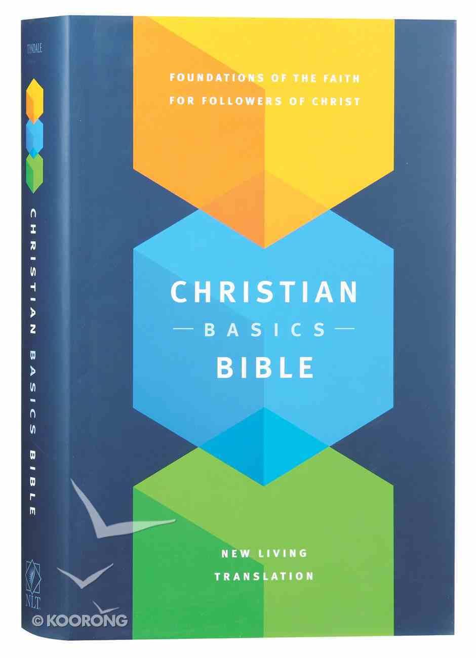NLT Christian Basics Bible (Black Letter Edition) Hardback