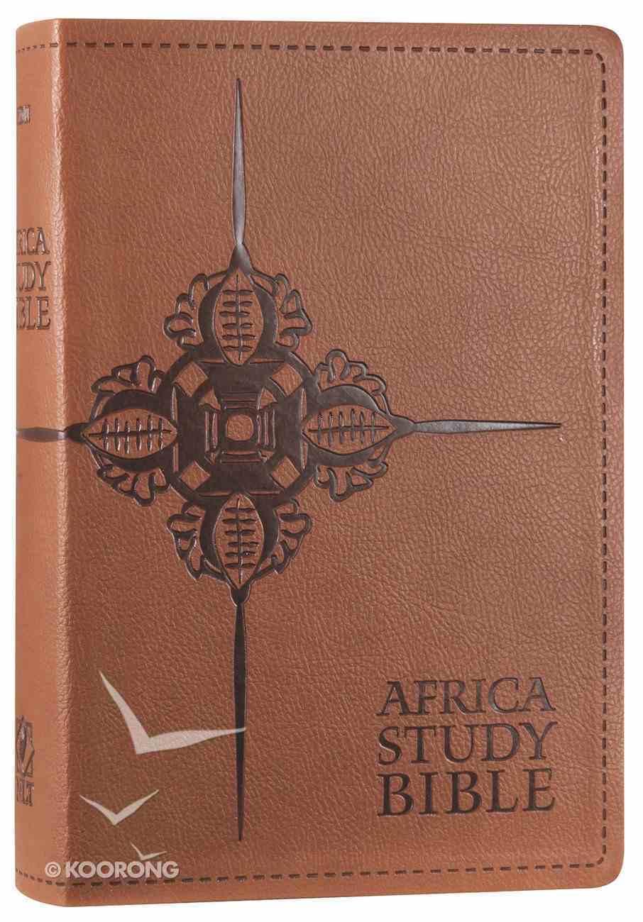 NLT Africa Study Bible Tan (Black Letter Edition) Imitation Leather