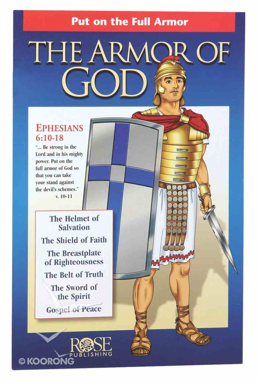Armor of God: Put on the Full Armor (Rose Guide Series) Pamphlet