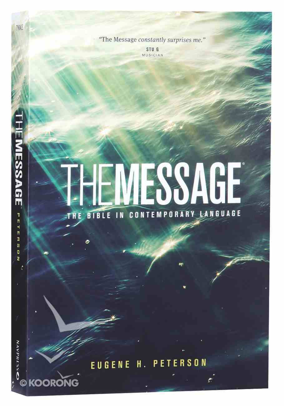 Message Ministry Edition Verse-Numbered (Black Letter Edition) Paperback