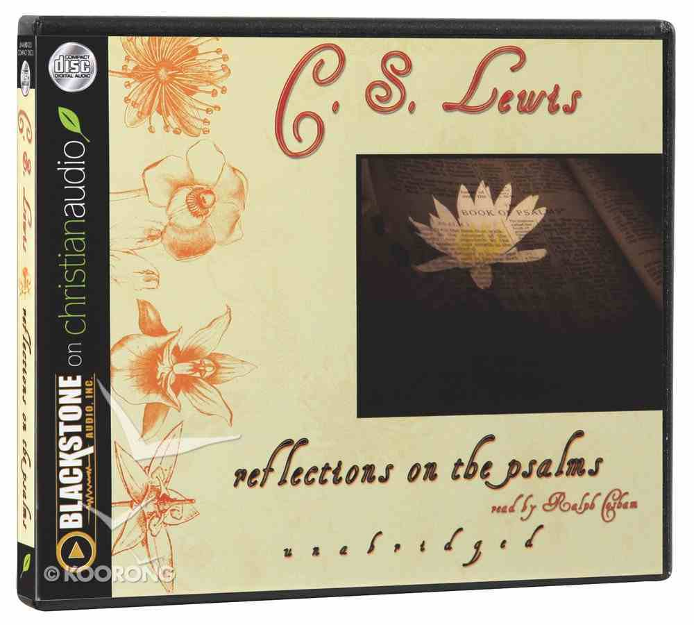 Reflections on the Psalms (Unabridged, 3 Cds) CD