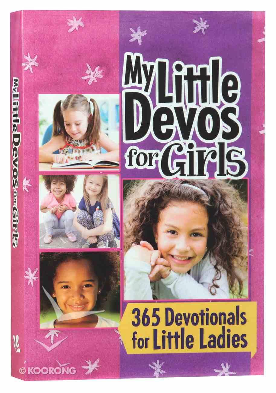 My Little Devos For Girls Paperback