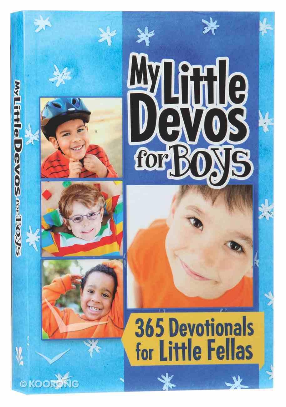 My Little Devos For Boys Paperback