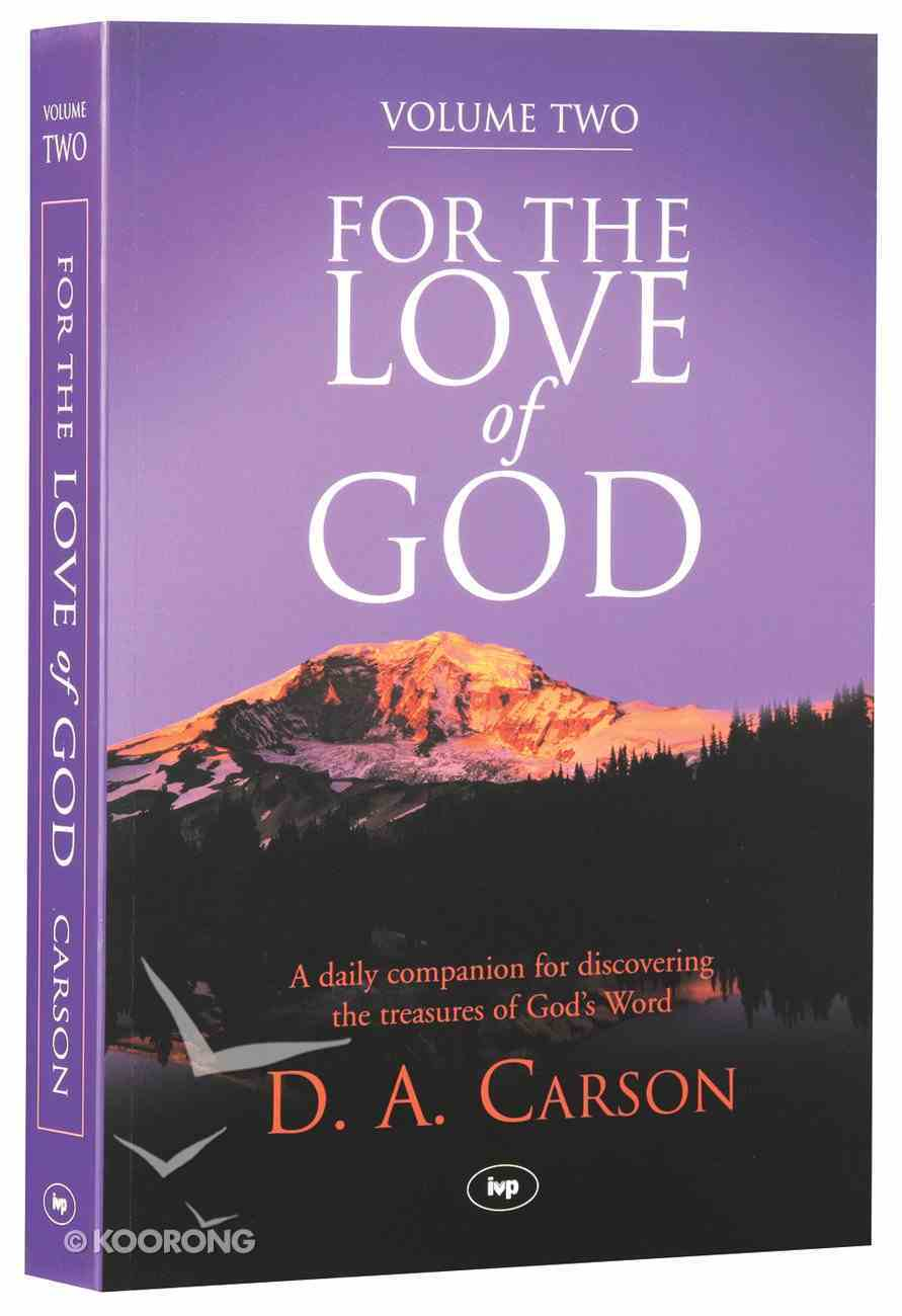 For the Love of God (Vol 2) Paperback