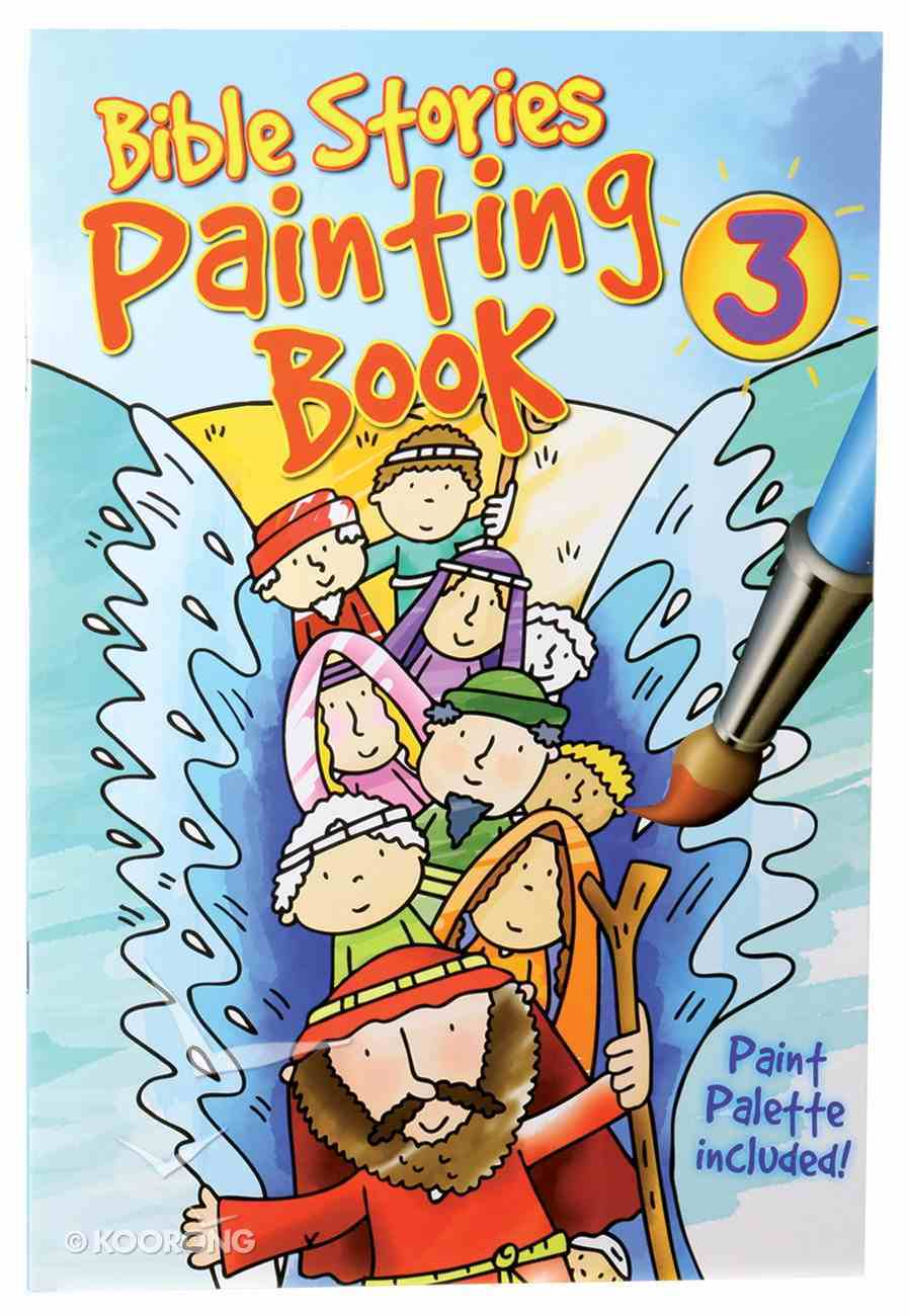 Bible Stories (#03 in Candle Painting Book Series) Paperback