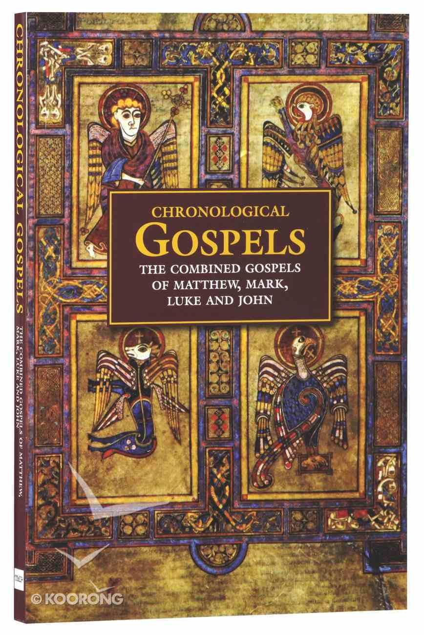KJV Chronological Gospels: The Combined Gospels of Matthew, Mark, Luke and John Paperback