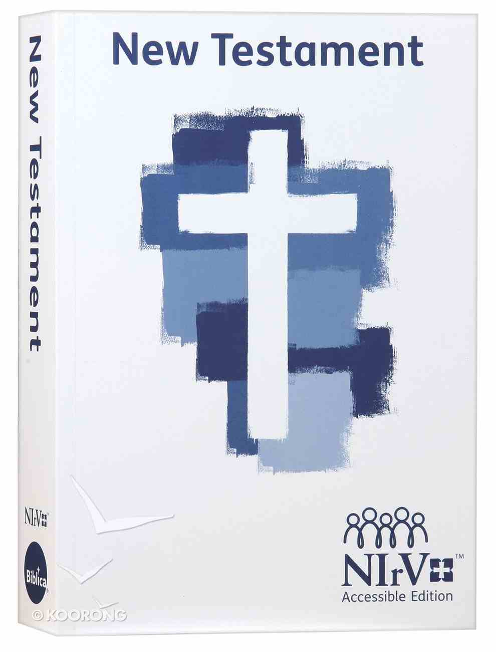 NIRV Accessible New Testament Paperback