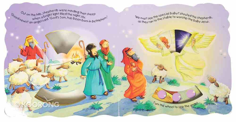 Bible Dial a Picture: Baby Jesus Board Book