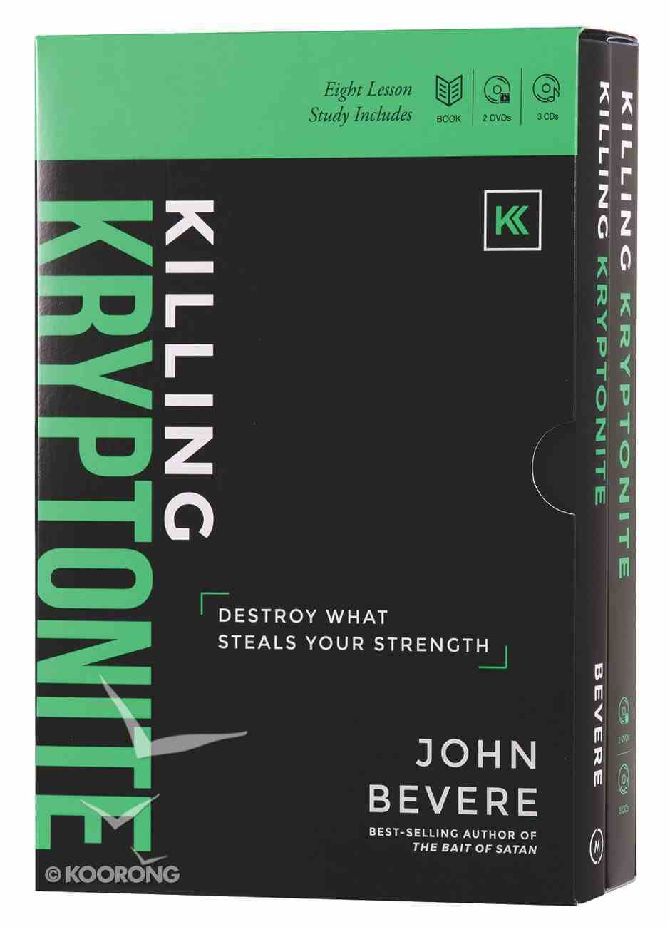 Killing Kryptonite: Includes 8 Lessons on 2 DVDS & 8 Lessons on 3 CDS & Hardcover Book (Multimedia Study) Pack