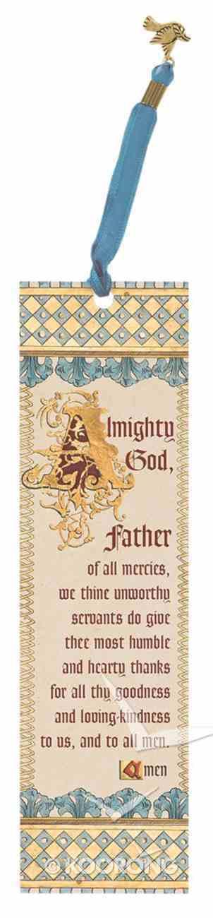 Bookmark Illuminated: Church of England Book of Common Prayer Stationery