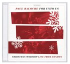 For Unto Us: Christmas Worship Live From London CD