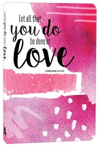 Product: Let All That You Do Be Done In Love Journal Image
