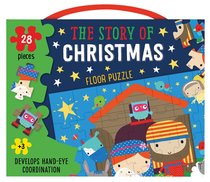 Product: Christmas Floor Puzzle: The Story Of Christmas (28 Pieces) Image