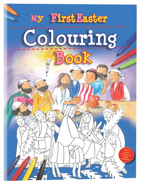 Product: My First Easter Colouring Book Image