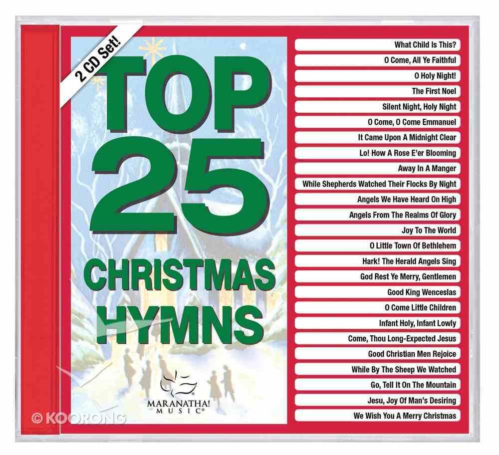 Top 25 Christmas Hymns (2 Cd) CD