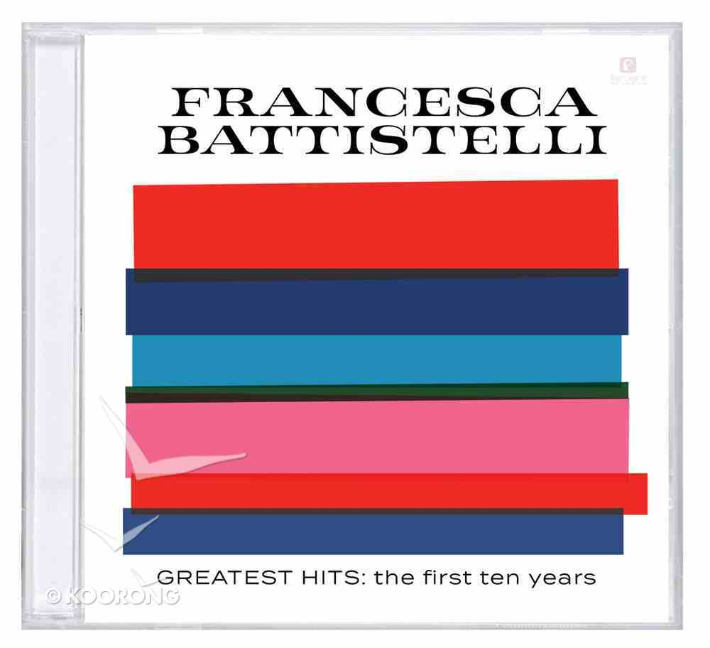 Greatest Hits: First Ten Years CD
