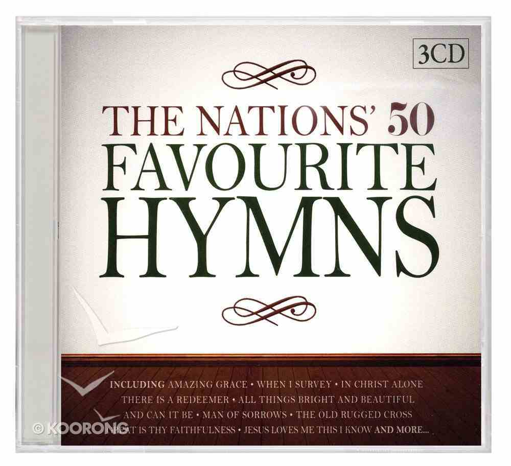 Nation's 50 Favourite Hymns (3 Cds) CD