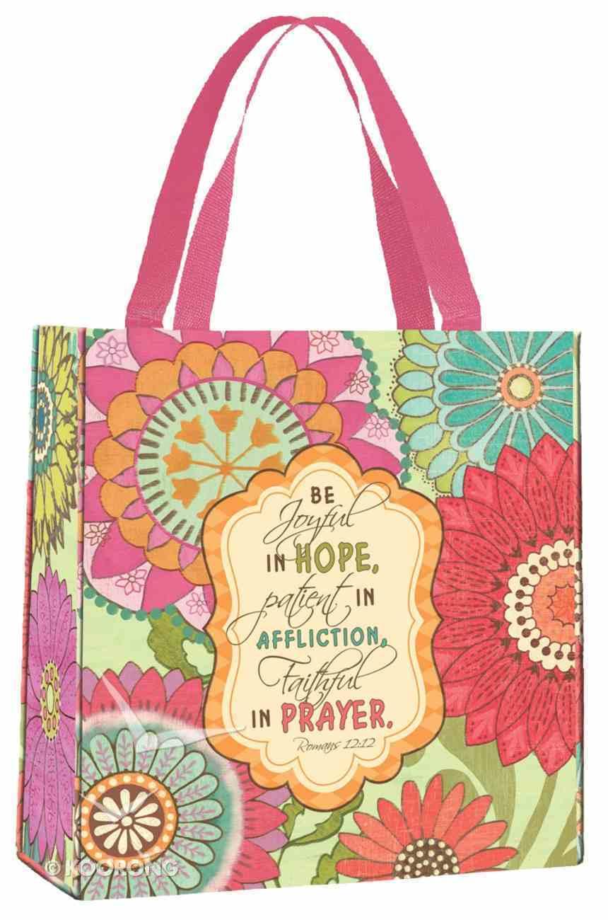 Bible Study Tote Bag: Joyful Flower Soft Goods