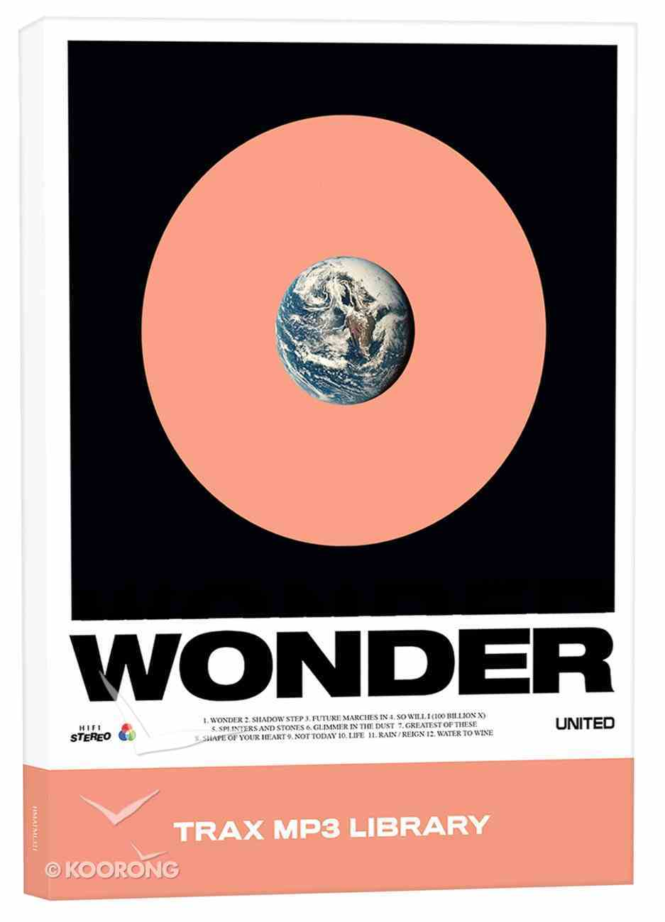 Hillsong United 2017: Wonder (Trax Mp3 Library) CD
