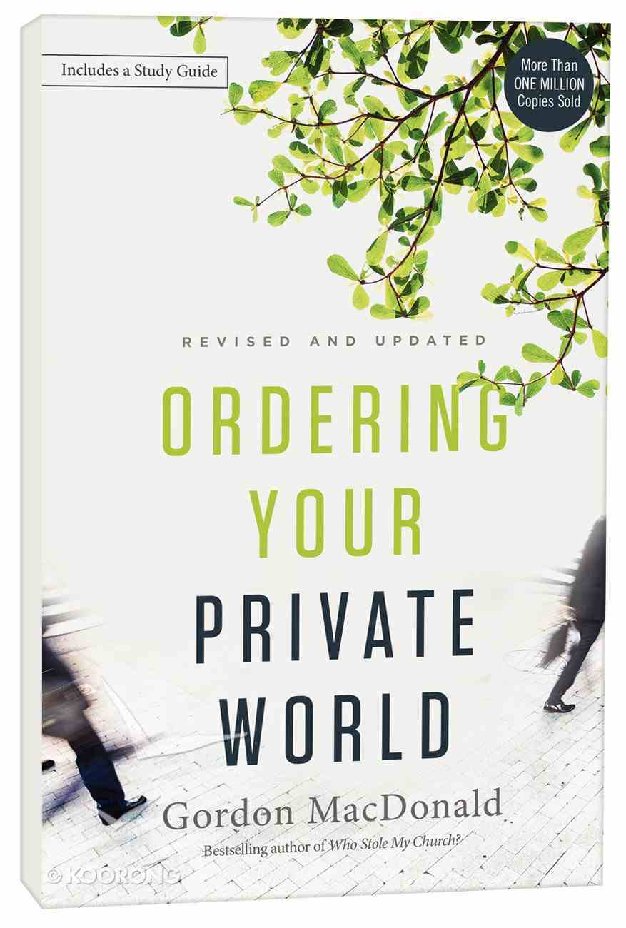Ordering Your Private World Paperback
