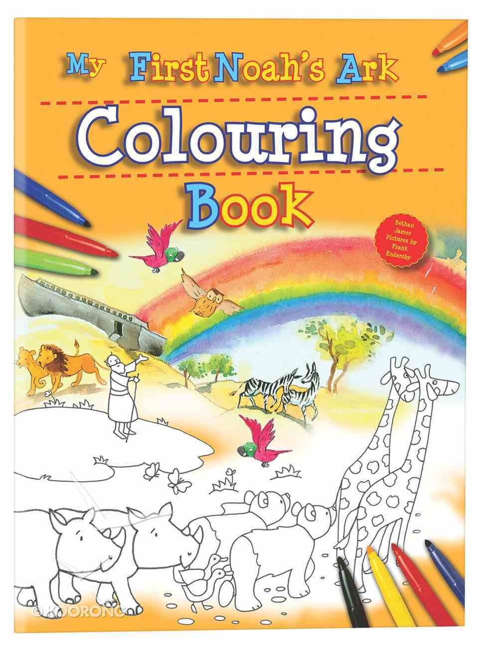 My First Noah's Ark Colouring Book Paperback