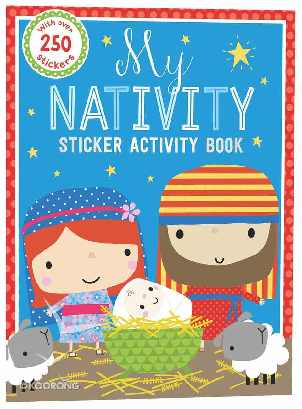 My Nativity Sticker Activity Book (4 Pages Stickers) Paperback