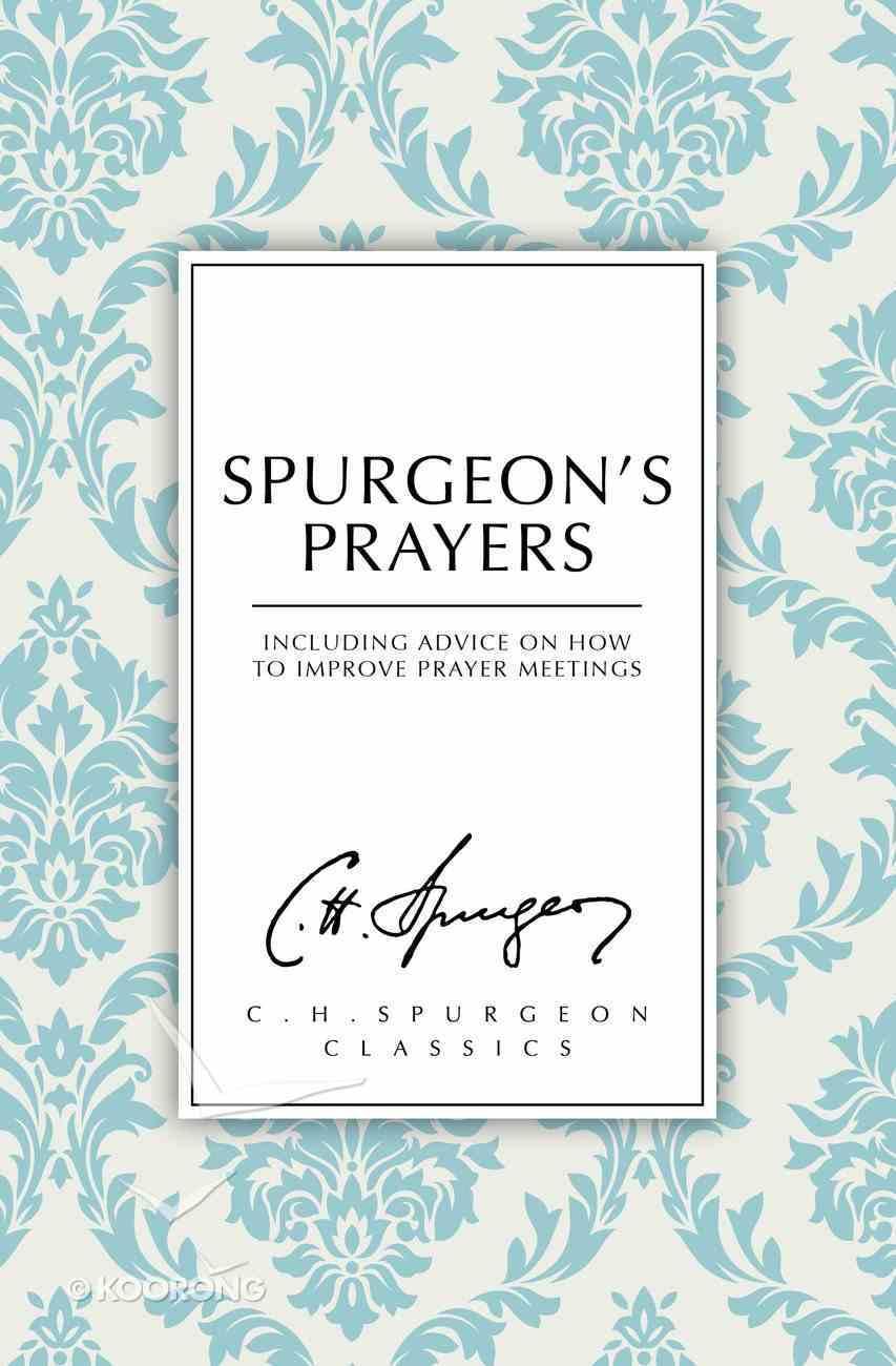 Spurgeons's Prayers Paperback